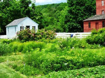 Barn Photograph - Farmer's Garden by Susan Savad