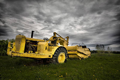 Farmers Toy Print by Mark Baker