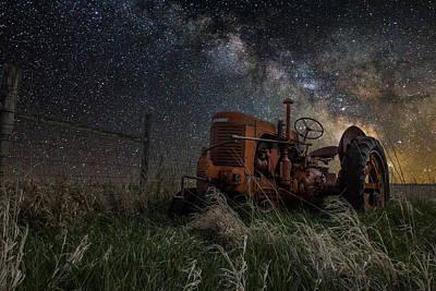 Stars Photograph - Farming The Rift by Aaron J Groen