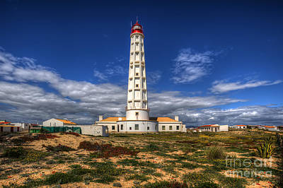 Faro Lighthouse Print by English Landscapes
