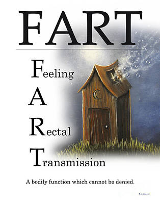 Fart Buseyism By Gary Busey Print by Buseyisms Inc Gary Busey