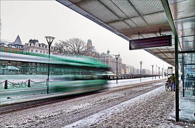Asphalt Photograph - Fast Traffic by EXparte SE