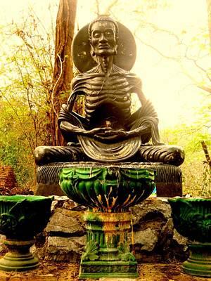 Bodhisatva Photograph - Fasting Bodhisatva by Ashley Ann Austin