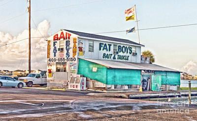 Fat Boys Print by Scott Pellegrin