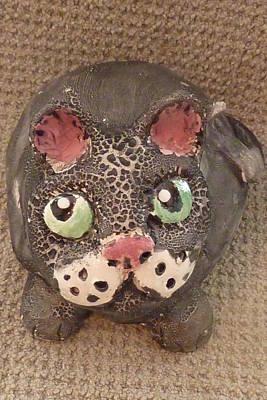 Customcrittersbydeb Sculpture - Fat Cat by Debbie Limoli