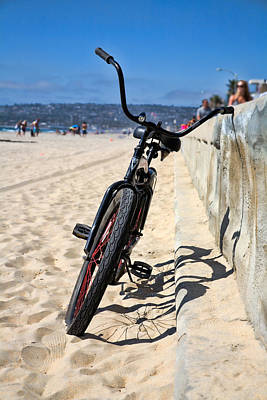 Bicycle Photograph - Fat Tire - Color by Peter Tellone