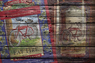 Handcrafted Photograph - Fat Tire by Joe Hamilton