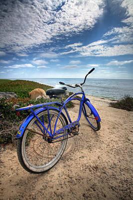 Beach Cruiser Photograph - Fat Tire by Peter Tellone