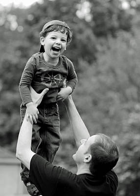 Children Photograph - Father And Son IIi by Lisa Phillips
