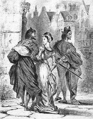 Faust: Mephistopheles 1828 Print by Granger