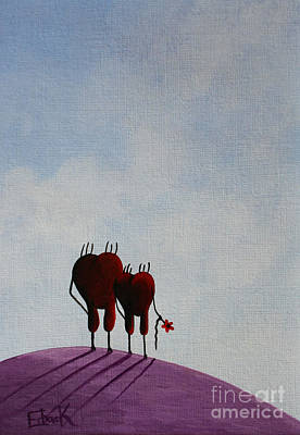 Animation Painting - Favorite Moments by Shawna Erback
