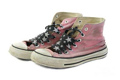 Favorite Shoes Print by Patty Colabuono