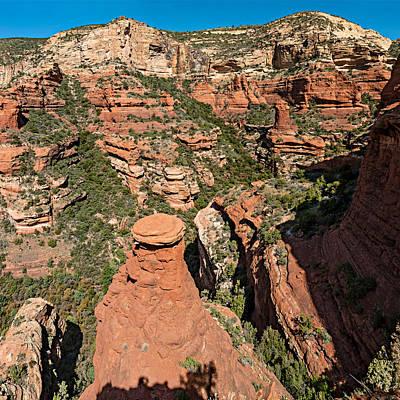 Fay Digital Art - Fay Canyon 06-047 Pan by Scott McAllister