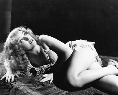Fay Photograph - Fay Wray In King Kong  by Silver Screen
