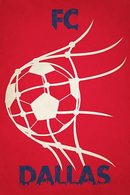 Soccer Photograph - Fc Dallas Goal by Joe Hamilton