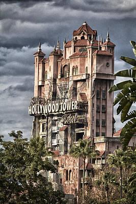 Disney Photograph - Fear Tower by Nicholas Evans