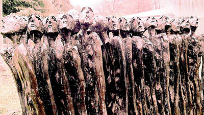 Fearing The Unknown Print by Giuseppe Epifani