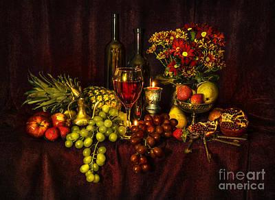Pear Digital Art - Feast Of Food by Svetlana Sewell