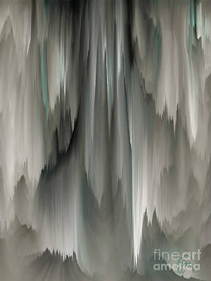 Digital Art - Feathered Veils by Patricia Kay