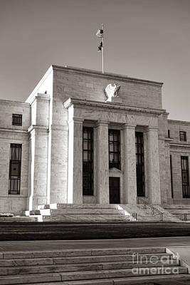 Washington D.c. Photograph - Federal Reserve by Olivier Le Queinec