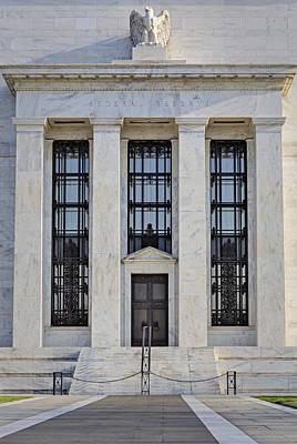Federal Reserve Print by Susan Candelario