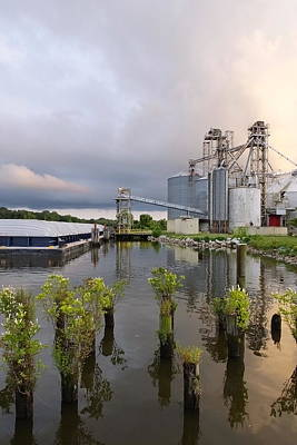 Feed Mill Photograph - Feed Mill On The River by Francie Davis