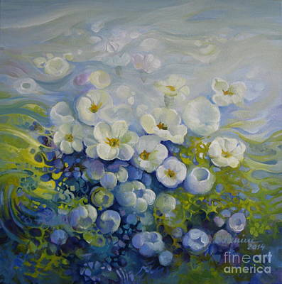 Feeling Of Spring Print by Elena Oleniuc