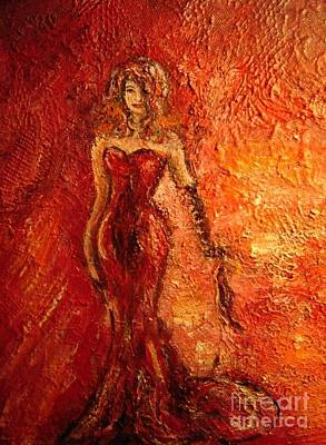 Painting - Feeling Red by Vicki Wynberg
