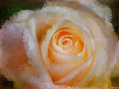 Jordan Painting - Feelings Of Flowers - Image Art by Jordan Blackstone