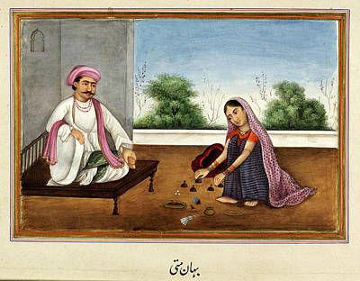 East India Photograph - Female Conjuror In India by British Library