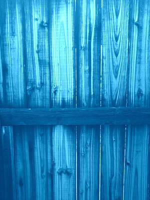 Abstract Photograph - Fence by I E Moon Eagle McClellan