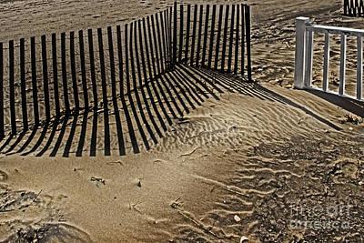 Fence Line Print by Tom Gari Gallery-Three-Photography