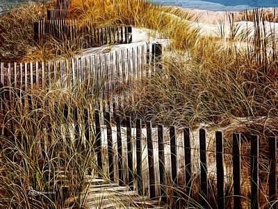 Ericamaxine Photograph - Fenced Off by EricaMaxine  Price