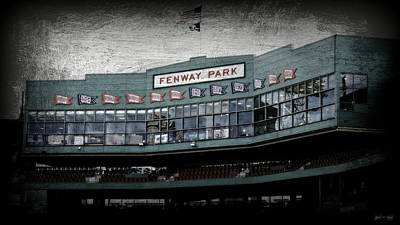 S Pole Photograph - Fenway Memories - 1 by Stephen Stookey
