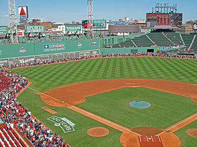 Fenway Park Photograph - Fenway One Hundred Years by Barbara McDevitt