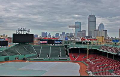 Fenway Park Boston Original by Amazing Jules