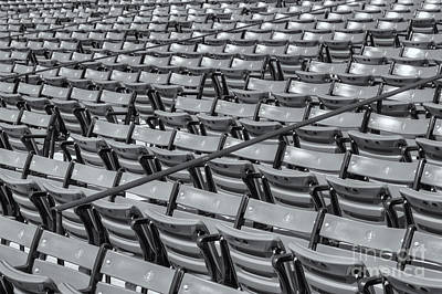 Boston Red Sox Photograph - Fenway Park Grandstand Seats II by Clarence Holmes