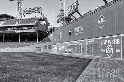 Boston Red Sox Photograph - Fenway Park Green Monster II by Clarence Holmes
