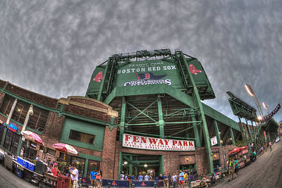 Boston Red Sox Photograph - Fenway Park by Joann Vitali