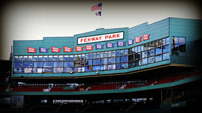 S Pole Photograph - Fenway Park by Stephen Stookey