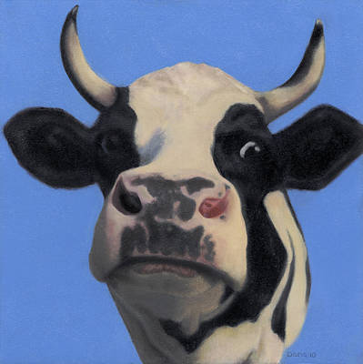 Steer Painting - Ferdinand by Dana Feagin