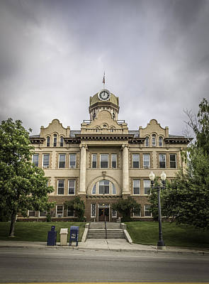 Fergus County Courthouse Print by Thomas Young