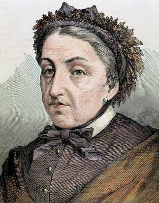 Caballero Photograph - Fernan Caballero (1796 -1877 by Prisma Archivo