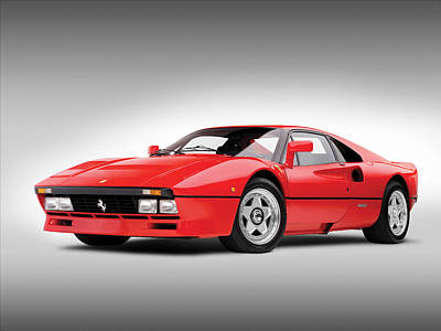 Ferrari 288 Gto Print by Gianfranco Weiss