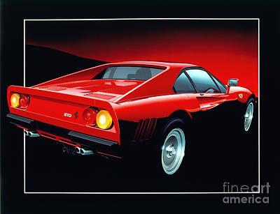 80 Digital Art - Ferrari 288 Gto  by Gavin Macloud