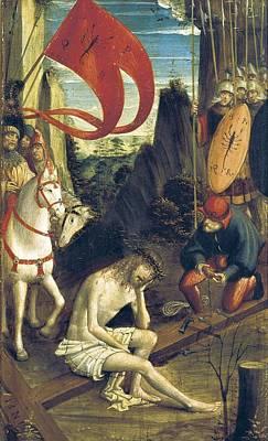 Inri Photograph - Ferrari, Defendente 1480-1540. Christ by Everett