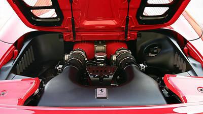 Car Digital Art - Ferrari Power by Marvin Blaine