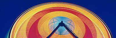 Ferris Wheel At Rose Festival Carnival Print by Panoramic Images