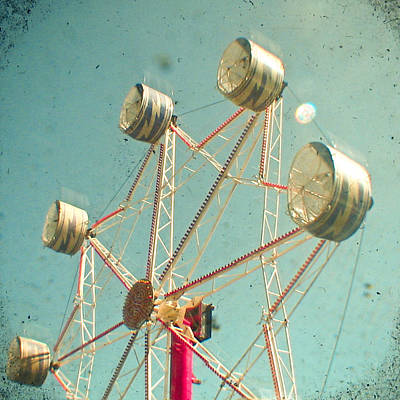 Cassia Photograph - Ferris Wheel by Cassia Beck