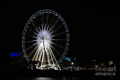 Thailand Photograph - Ferris Wheel Of Light Asiatique by Gregory Smith